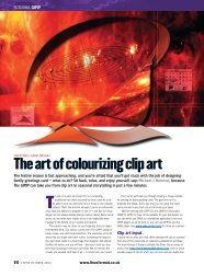 The art of colourizing clip art - Linux Ink