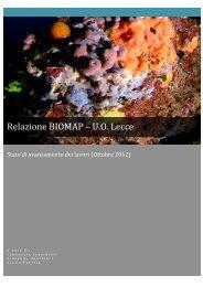 Relazione BIOMAP – U.O. Lecce