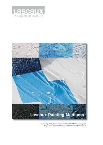 Lascaux Painting Mediums - Lascaux Colours & Restauro