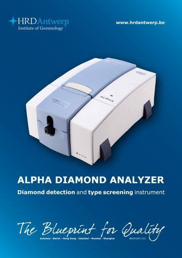 ALPHA DiAmonD AnALyzer