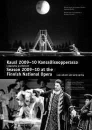 Suomen kansallisoopperan kausi 2009–10 - Suomen Wagner ...