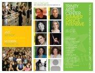 TRINITY ARTS CENTER SUMMER DANCE INTENSIVE