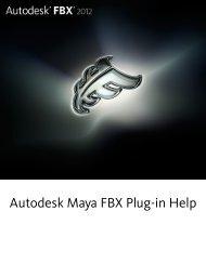 Autodesk Maya FBX Plug-in Help