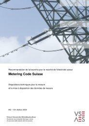 Metering Code Suisse - Verband Schweizerischer ...