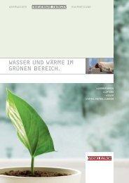 WASSER UND WÄRME IM GRÜNEN BEREICH. - Stiebel Eltron