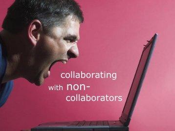 Collaborating with Non-Collaborators: Part 1 - Accelinnova