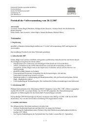 Protokoll der Vollversammlung vom 20.12.2007 - SUB - Universität ...