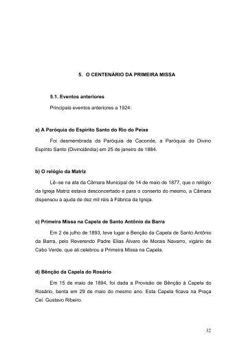 Capítulo V - Basílica Santuário Nossa Senhora da Conceição em ...