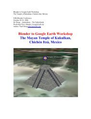 Blender to Google Earth Workshop - Blender.org