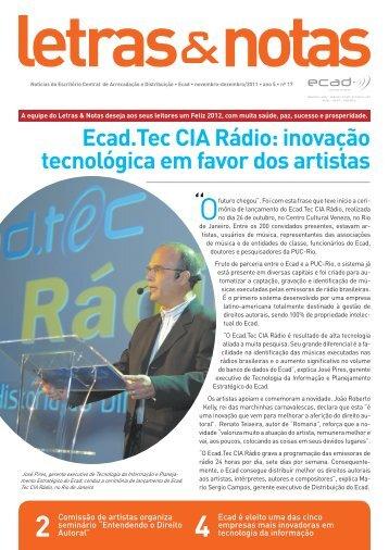 Nov - Dez / 2011 / Ano 5 / Nº 17 - Ecad