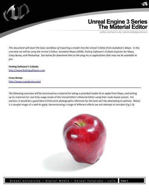 Material Editor - Drexel Game Design - Drexel University
