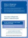 Downloadable Patient Brochure - Collagenase SANTYL® Ointment - Page 2