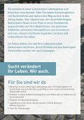 Therapie in Gastfamilien: Neu orientieren ... - Suchthilfe Region Basel - Seite 2