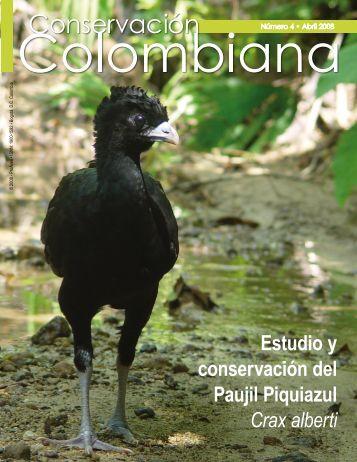 Estudio y conservación del Paujil Piquiazul Crax alberti - Proaves
