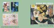 Paintings, Drawings, Collages, 1928 - Atelier Anna Walinska