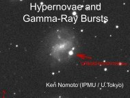 Hypernovae and Gamma-Ray Bursts