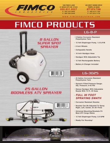 FIMCO PRODUCTS - Tractor Supply Company