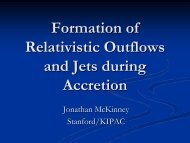 Review: Formation of Relativistic Outflows and Jets during ... - KIAA