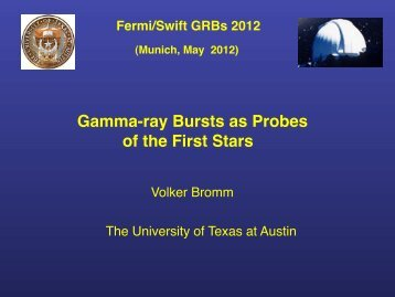 Gamma-ray Bursts as Probes of the First Stars