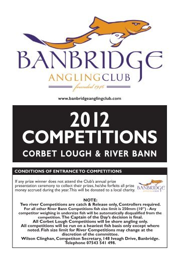 COMPETITIONS - Banbridge Angling Club