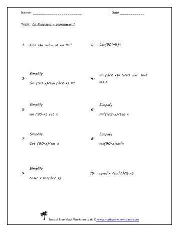Printables Evaluating Functions Worksheet math worksheets evaluating functions preschool algebra 1