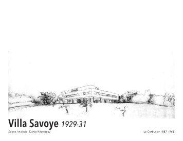 Villa Savoye space