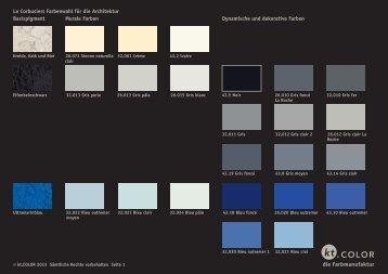 Le Corbusier Farben gegliedert.indd - kt.COLOR