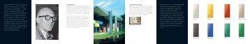 Mit den Farben von Le Corbusier bekennt sich Runtal zu einem ...