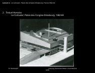 3. Textual Heresies Le Corbusier, Palais des Congres-Strasbourg ...
