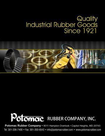 V Belts, Cog Belts & Belting - Potomac Rubber Company, Inc.