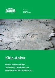 Kitic-Anker - Suter Bautenschutz AG