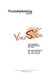 Maki - Yoko Sushi Bar Basel