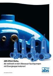 ABS EffeX-Reihe - Franz Suter GmbH Pumpen und Systeme