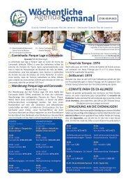 27.08.-02.09.2012 - Escola Alemã Corcovado