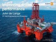 Improving drilling performance - BG Group