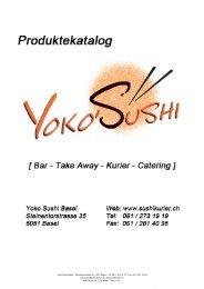 Nigiri - Yoko Sushi Bar Basel