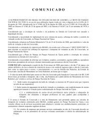 Novas Normas de Acesso ao Corcovado - Instituto Terra Brasil
