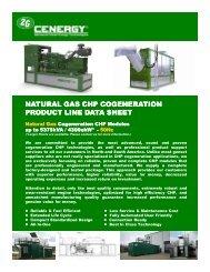 NATURAL GAS NATURAL GAS CHP COGENERATION CHP ...