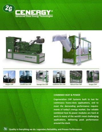 Company Brochure - 2G Cenergy