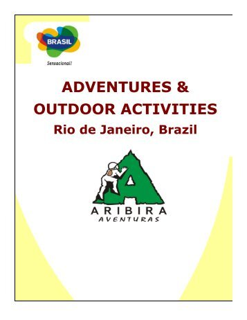 Aribira - Atividades Rio de Janeiro