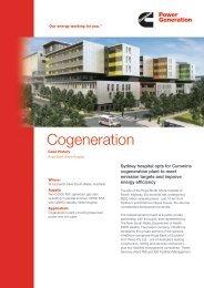 Cogeneration - Cummins Inc.
