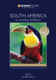 SOUTH AMERICA - Scenic Tours