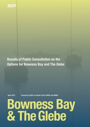 Results of Public Consultation on the Options for Bowness ... - BDP