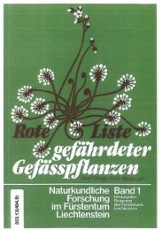 Fürstentums Liechtenstein Mario F. Broggi Edith Waldburger