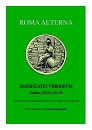 Significatio Verborum II