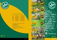 Establishment Guarantee - Seed Distributors