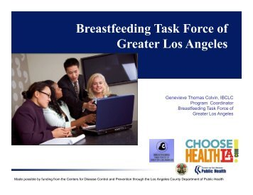 Genevieve Colvin - California Breastfeeding Coalition