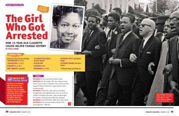 HOW 15-YEAR-OLD CLAUDETTE COLVIN HELPED ... - Scholastic