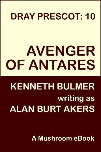 Avenger of Antares - Mushroom eBooks