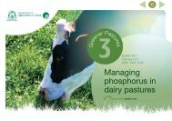 Managing phosphorus in dairy pastures - Department of Agriculture ...